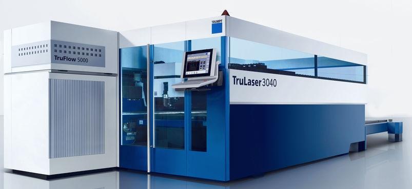 Модернизация производства - лазерный станок TruLaser 3040