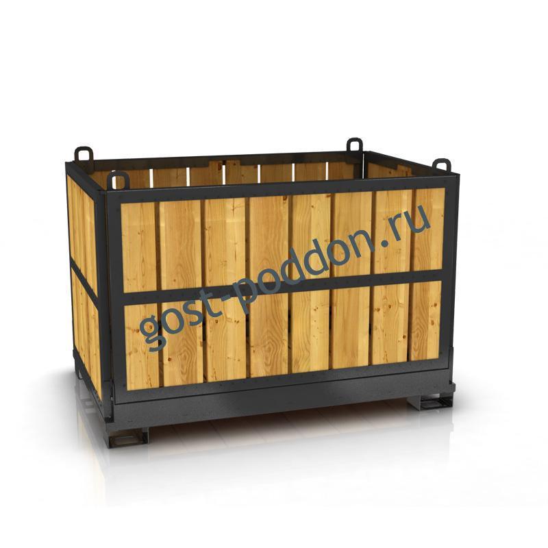Транспортирование грузов в ящичных поддонах